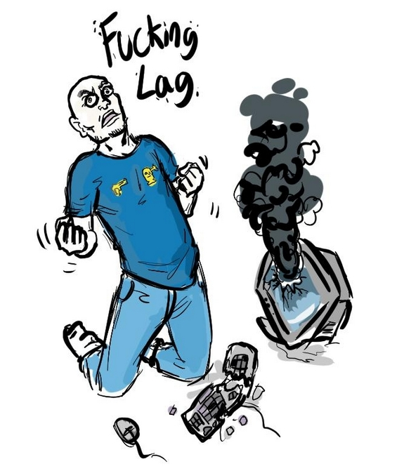 FPS Doug lag Drawing